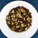 Salade met linzen en gegrilde courgette