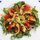Salade met grapefruit en avocado uit Feasts