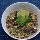 Zelfgemaakte guacamole