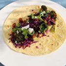 Taco's met geroosterde broccoli en kikkererwten