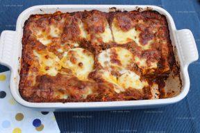 Lasagne met andijvie (of snijbiet)