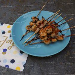 Em's real barbecue – pastisgarnalen