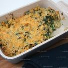 Mac 'n cheese met spinazie