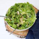 Salade van andijvie en peer