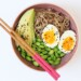Snelle Japanse bowl met noedels