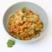 Indiase curry met tomaat en kokos
