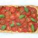 Plaattaart met tomaten en tapenade