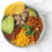 Zomerse Mexicaanse bowl