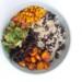 Vegan Mexicaanse bowl met pompoen