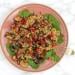 Parelcouscous met granaatappel en geroosterde groente